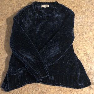 Midnight Blue Philosophy Sweater Size M